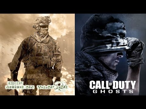 copied - We look at a closer look at a scene from Call of Duty: Modern Warfare 2 that comes extremely close to being an exact scene from Call of Duty: Ghosts.