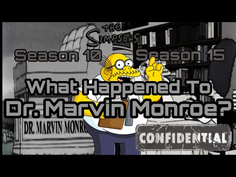 What happened to Dr. Marvin Monroe?