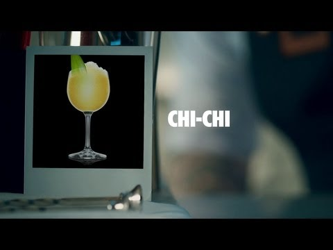 CHI-CHI DRINK RECIPE - HOW TO MIX