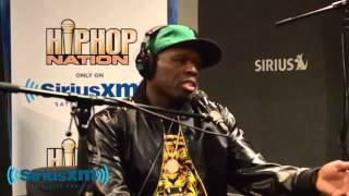 DJ Envy interviews 50 Cent on SiriusXM Satellite Radio