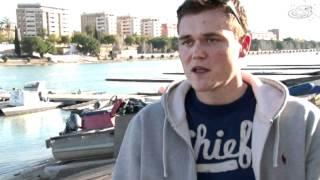 Der Deutschlandachter bereitet sich im Trainingslager im spanischen Sevilla auf die Olympischen Spiele in London 2012 vor.