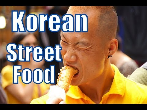 Eating Korean Street Food at Namdaemun Market in Seoul, Korea video