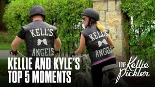 From ninja walks to cooking with Kimberly Schlapman, we're taking a look at the cutest (and funniest) Kellie and Kyle moments in honor of the Season 3 Premiere. I Love Kellie Pickler Season 3 premieres Thursday, August 3 at 11/10c on CMT. SUBSCRIBE now for more CMT: http://at.cmt.com/uXvwn More I Love Kellie Pickler:Kellie Covers Patsy Clinehttp://bit.ly/2ug7vtiKellie's Beauty Tipshttp://bit.ly/2tOJmrFFOLLOW CMT:Facebook: http://at.cmt.com/uXwBK Twitter: http://at.cmt.com/uXwGj Instagram: http://at.cmt.com/uXx1QCMT.com: http://at.cmt.com/uXwLt About I Love Kellie Pickler: Recognized and beloved for her fun-loving personality, uniquely hysterical witticisms and Southern charm, I Love Kellie Pickler will follow Kellie as she navigates her madcap relationships with friends, family and the unpredictability of couplehood alongside her husband, Kyle Jacobs, her complete opposite.