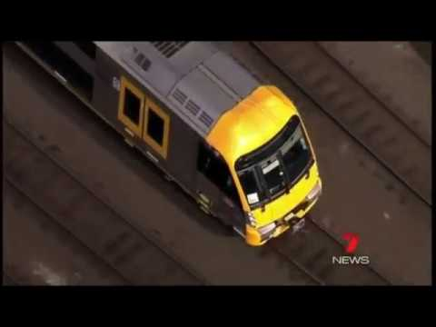 The history of the Waratah train (A / B set) - The train that revolutionised Sydney (видео)