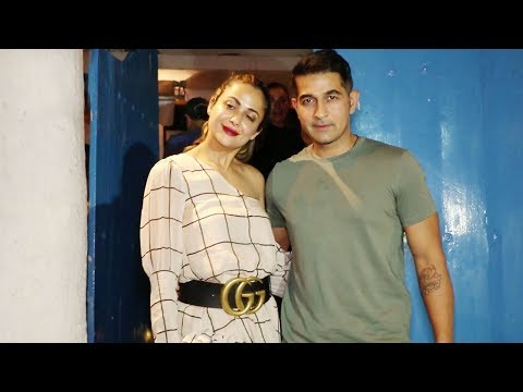 Amrita Arora SPOTTED With Her Husband After A Dinn