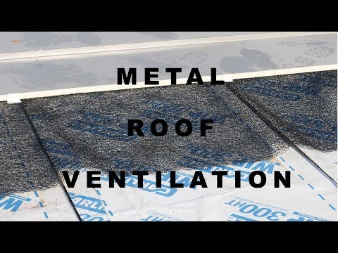 Preventing Condensation on Metal Roofs