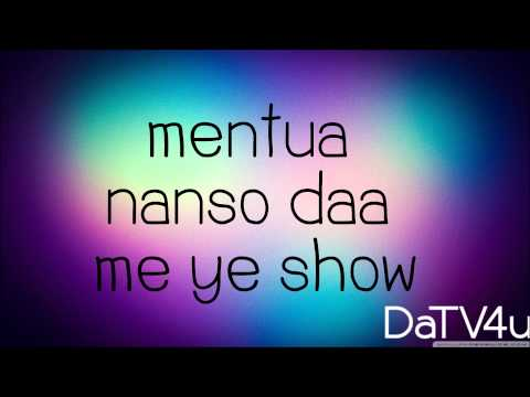 Sarkodie - Devil In Me (feat. Efya) - Lyrics (HD)