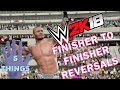 WWE 2K18 - Finisher To Finisher Reversals! - 5 Things (Concept/Ideas)
