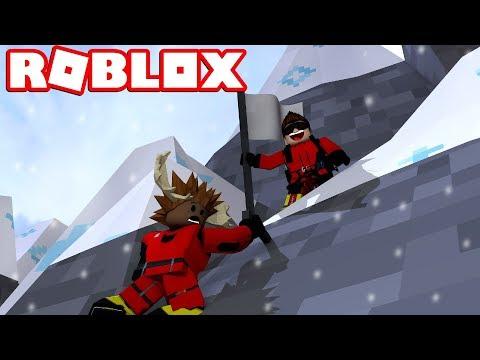 PAS PÅ, ELG! - Roblox Mount Everest Climbing Dansk feat. Den Mandige Elg