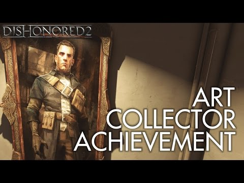 Dishonored 2 - All Paintings (No Power/No Kill/Never Detected) Part 3