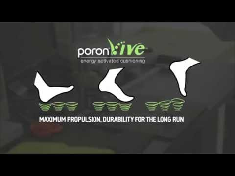 Technology Behind New Insole Material PORON® Vive™ ITA subtitles