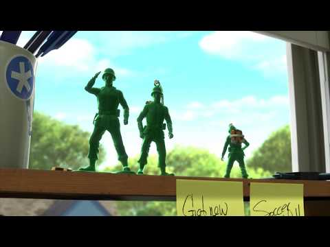Toy Story 3: Sarges Goodbye (R. Lee Ermey Tribute)