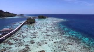 Pulau Una Una Indonesia  city pictures gallery : Aerial Pulau Papan, Kepulauan Togean, Sulawesi Tengah, Indonesia