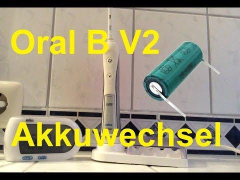 Braun Oral B Professional V2 Akkutausch / Battery Replacament