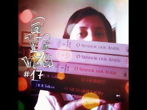 """aViviu #17 - Leituras de Setembro/2012 OU """"um vídeo sobre a Terra Média"""""""