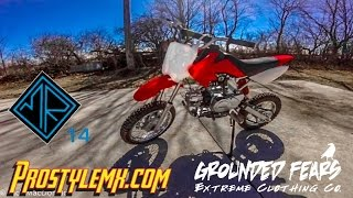 7. 2007 Panterra 110cc Pitbike | Once Over | GoPro
