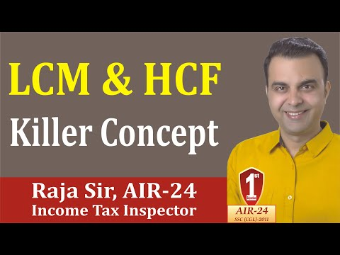 LCM & HCF : Last Digit, Basic Concept/ Tricks/ Formula/ Shortcuts by RAJA SIR (AIR-24)