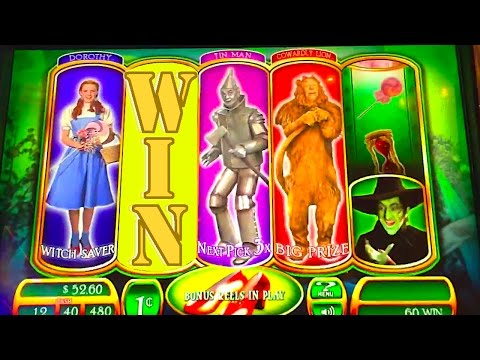 "HOW TO WIN HUGE & WALK OUT THE DOOR!!! ""RUBY SLIPPERS"" Slot Machine Bonus Win Videos"