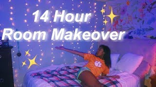 Extreme 14 Hour Room Makeover 2019!!!