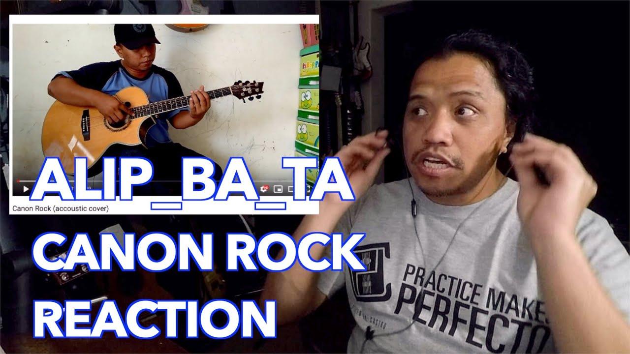 """Alip Ba Ta """"Canon Rock""""  (Acoustic Guitar) REACTION"""