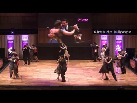 Mundial de tango 2016, semifinal pista