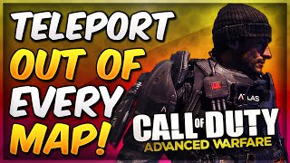 COD Advanced Warfare Glitches - TELEPORT Out of All Maps! Out of Every Map Glitch & Godmode + Weird Inverted/Texture Glitch Tutorial! Officially the best gli...