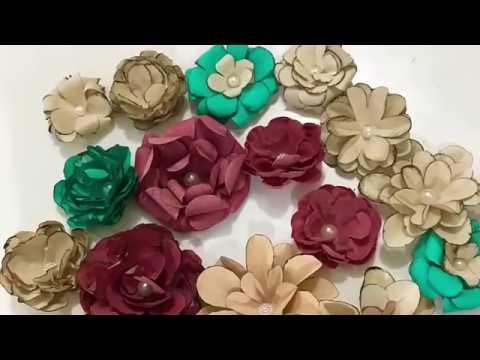 Florzinhas para decoração