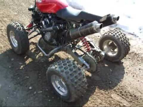 600cc - Handmade turbo atv.