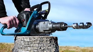 Video Chain Saw HACK 7 - Drill Attachment MP3, 3GP, MP4, WEBM, AVI, FLV Februari 2019