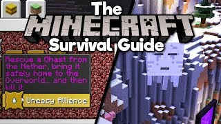 Bringing Ghasts To The Overworld! • The Minecraft Survival Guide (Tutorial Lets Play) [Part 109]