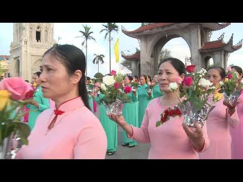 Giáo xứ Quần Liêu Khai Mạc Tháng Hoa Dâng Mẹ