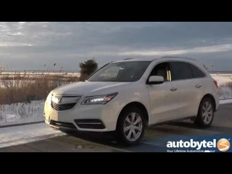 2014 Acura MDX SH-AWD Road Test Video Review