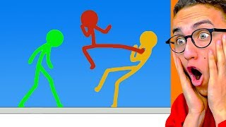 Video Reacting To THE GREATEST STICK FIGHT ANIMATIONS! MP3, 3GP, MP4, WEBM, AVI, FLV Maret 2019