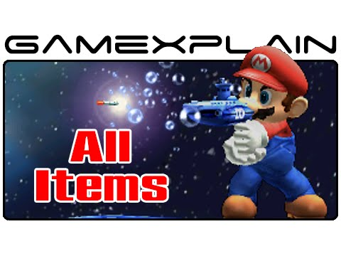 3ds - http://www.GameXplain.com Watch us use and abuse every item in Super Smash Bros. 3DS, including Blue Shells, Bullet Bills, POW Blocks, Cuccos, and tons more! • Follow GameXplain on... ...Faceboo...