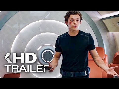 SPIDER-MAN: Far From Home - Peter's New Suit Spot & Trailer (2019)