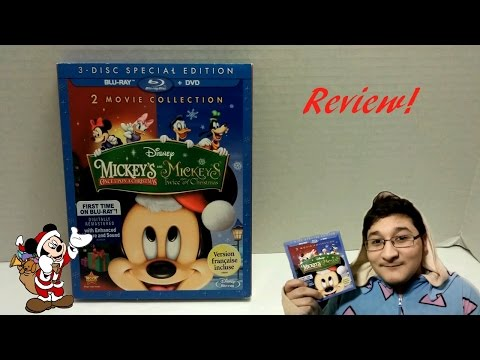 Mickey's Once And Twice Upon A Christmas Blu Ray/DVD Review! - Jay Toonz