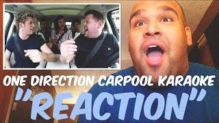 Video One Direction Carpool Karaoke [REACTION] MP3, 3GP, MP4, WEBM, AVI, FLV Agustus 2018