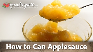 How to Can - Apple Sauce from Tree to Jar