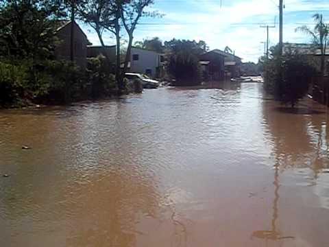 Enchente em São sebastião do Cai