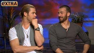 'The Avengers' Interviews: Chris Hemsworth and Chris Evans