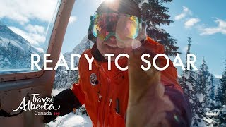 Travel Alberta: The ultimate winter selfie while heli-snowshoeing the Canadian Rockies