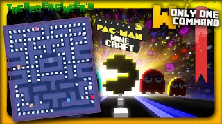 """Minecraft - Pacman with only 3 command blocks 