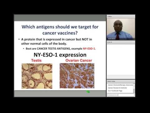 Breakthroughs in Cancer Immunotherapy Webinar: Dr. Kunle Odunsi, Immunotherapy for Gynecologic Cancers