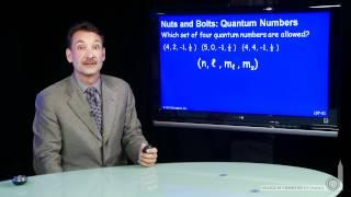 Quantum Numbers (NB)