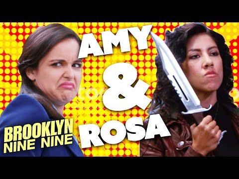 Rosa & Amy: Sleuth Sisters | Brooklyn Nine-Nine | Comedy Bites