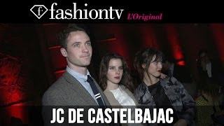 JC de Castelbajac Fall/Winter 2014-15 Front Row | Paris Fashion Week PFW | FashionTV