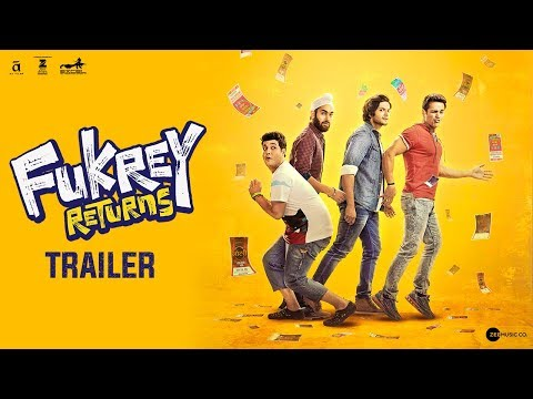 Official Trailer : Fukrey Returns
