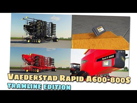 Vaederstad Rapid A600-800S Tramline Edition v1.0.0.1