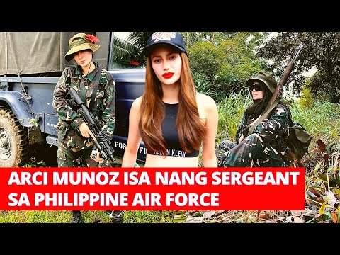 ARCI MUNOZ ISA NANG SERGEANT SA PHILIPPINE AIR FORCE
