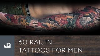 Video 60 Raijin Tattoos For Men MP3, 3GP, MP4, WEBM, AVI, FLV Juni 2018
